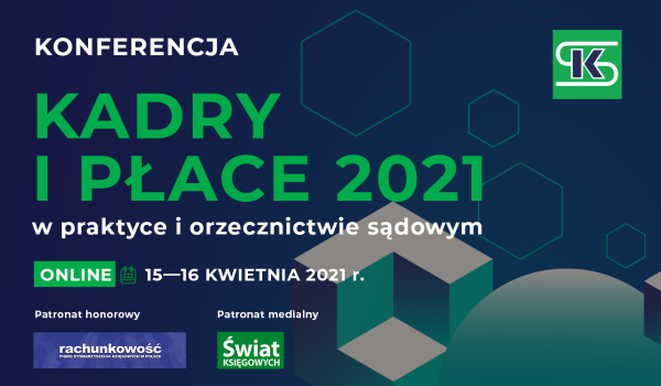 KADRY i PŁACE 2021 - konferencja online